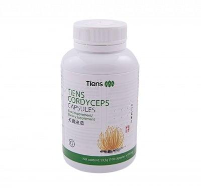 TIANSHI КОРДИЦЕПС МИЦЕЛУС - намалява умората, подсилва организма - 100 капсули х 0.5 гр., TIENS
