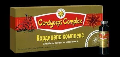 КОРДИЦЕПС КОМПЛЕКС - повишава жизнената енергия и издръжливост - флакони 10 мл. х 10, TNT 21