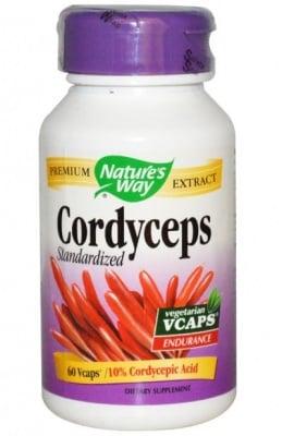 КОРДИЦЕПС - природен антибиотик - капсули 500 мг. х 60, NATURE'S WAY