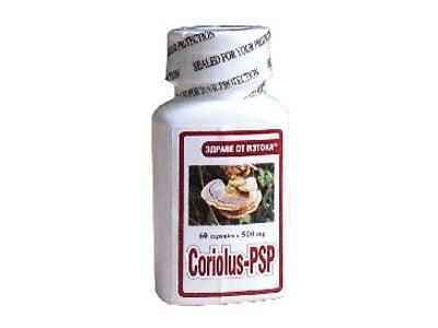 КОРИОЛУС PSP - подкрепя имунната система - капсули 500 мг. х 60, TNT 21