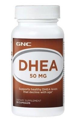 ДХЕА - поддържа нормалните нива на Дхеа - капсули 50 мг. х 90, GNC