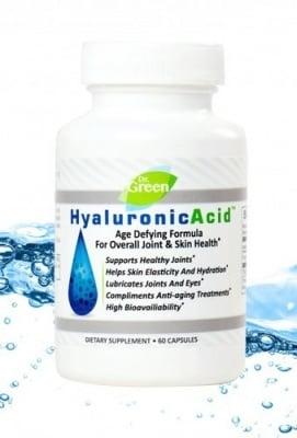 ХИАЛУРОНОВА КИСЕЛИНА -  забавя процесите на стареене, поддържа структурата на ставите - 50 мг. х 60 капсули