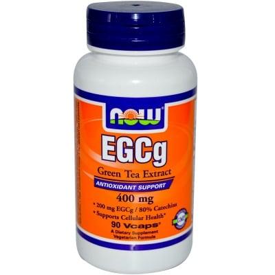 EGCG ЗЕЛЕН ЧАЙ ЕКСТРАКТ -  ускорява метаболитните процеси - капсули 400 гр. х 50 бр., NOW FOODS