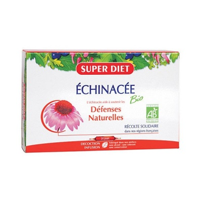 ЕХИНАЦЕЯ - подсилва имунната система, антиоксидант - сашета 15 мл. х 20, SUPER DIET