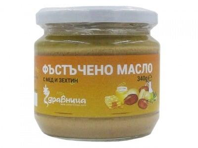 ФЪСТЪЧЕНО МАСЛО МЕД/ЗЕХТИН 340гр., ЗДРАВНИЦА
