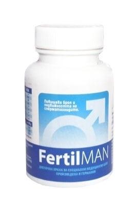 ФЕРТИЛМЕН - повишава подвижността, концентрацията и броя на сперматозоидите - капсули х 60, BIOSTREAM