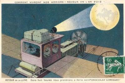 Как хората са си представяли бъдещето...100 години назад