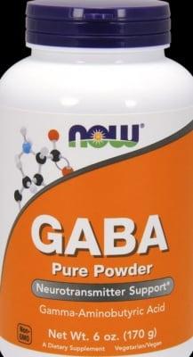 ГАБА прах – за спокоен сън и здрава нервна система – 170 гр., NOW FOODS