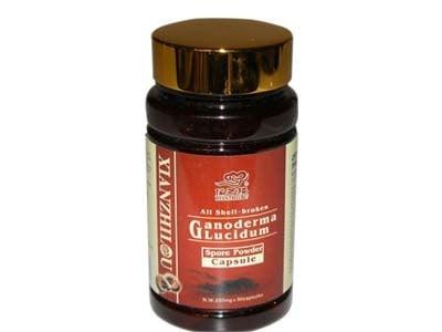 ГАНОДЕРМА ЛУЦИДУМ СПОРИ (РЕЙШИ) - повишава имунитета - капсули 250 мг. х 90, TNT 21