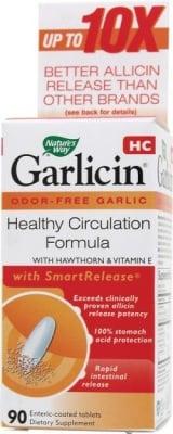 ГАРЛИЦИН ЗА СЪРЦЕ - подобрява кръвния поток към сърцето - капсули 350 мг. х 90, NARURE'S WAY