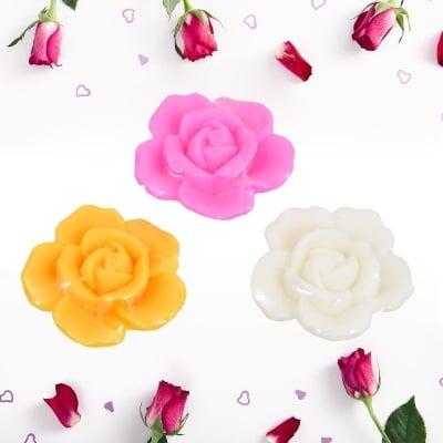 Натурален глицеринов сапун Роза