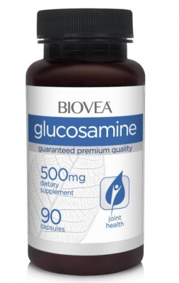 ГЛЮКОЗАМИН - за лечение на ставни заболявания - капсули 500 мг. х 90, BIOVEA