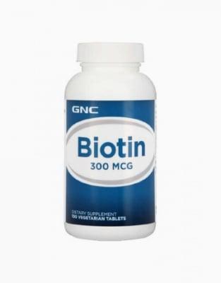 БИОТИН - за здрави клетки - капсули 300 мг. х 100, GNC