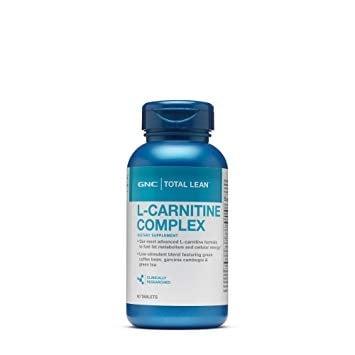ТОТАЛ ЛИЙН L-КАРНИТИН 1000 мг. спомага изгарянето на мазнините * 60капс., GNC