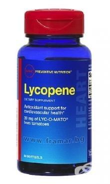 ЛИКОПЕН - подкрепя здравето на сърдечно-съдовата система - капсули 30 мг. х 60, GNC