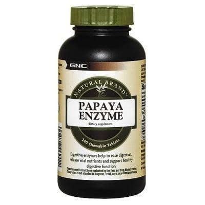 ПАПАЯ - подпомага храносмилането - капсули х 240, GNC