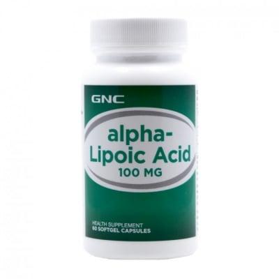 АЛФА ЛИПОЕВА КИСЕЛИНА 300 мг. * 60капс., GNC