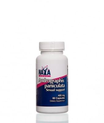 АНДРОГРАФИС ПЕНИКУЛАТА - подобрява функцията и здравето на черния дроб -  капсули 400 мг. х 60 бр., HAYA LABS