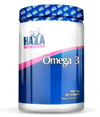 ОМЕГА 3 1000 мг. укрепва костната система * 500капсули, ХАЯ ЛАБС