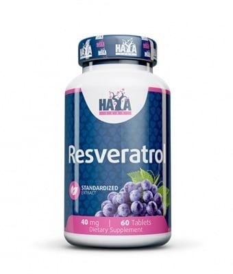 РЕСВЕРАТРОЛ  40 мг. - укрепва здравето на сърдечно-съдовата система * 60 табл.