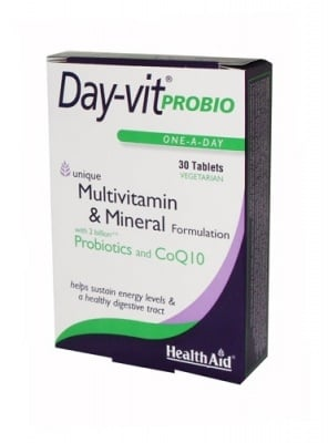 ДЕЙ - ВИТ ПРОБИО - подпомага правилното функциониране на храносмилателната система - таблетки х 30, HEALTH AID