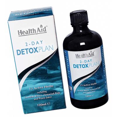 ДЕТОКС ПЛАН СИРОП -  оказва специфично действие върху организма и му помагат да елиминира токсичните отпадъци -  сироп х 100 мл., HEALTH AID