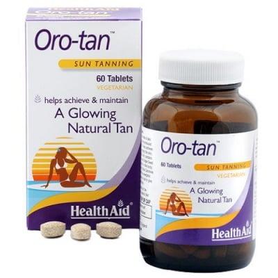 ОРО-ТЕН - за постигане и поддържане на естествен бронзов тен - таблетки х 60, HEALTH AID