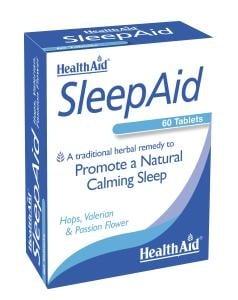 СЛИЙП ЕЙД - за спокоен сън - таблетки x 30, HEALTH AID
