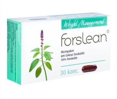 ФОРСЛИЙН – подсилва дейността на щитовидната жлеза и ускорява изгарянето на мазнини - капули 330 мг. x 30, HERBA MEDICA