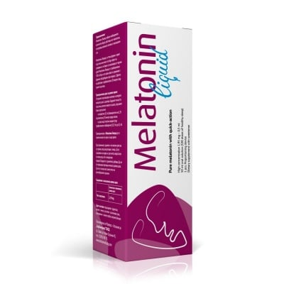 МЕЛАТОНИН ЛИКУИД - осигурява пълноценен сън - 50 мл., HERBA MEDICA