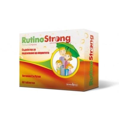 РУТИНОСТРОНГ - подсилва имунната система и производството на колаген, таблетки 220 мг х 60, HERBA VON