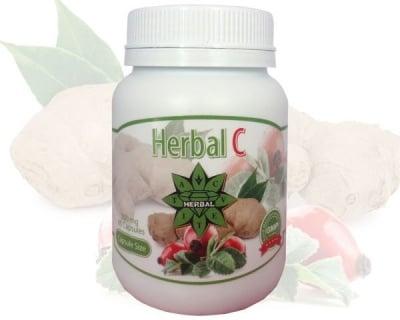 ХЕРБАЛ С - силен природен имуностимулатор - капсули 300 мг. х 60, CVETITA