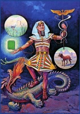 Хермес Трисмегистус - митичният учен и философ, тройно велик във физическия, духовния и божествения свят