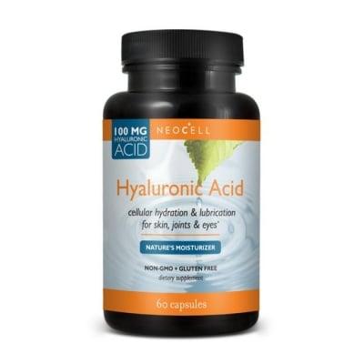 ХИАЛУРОНОВА КИСЕЛИНА за вежа и хидратирана кожа 100 мг. * 60 капс.