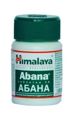 АБАНА – грижа за сърцето – таблетки х 30, THE HIMALAYA DRUG CO