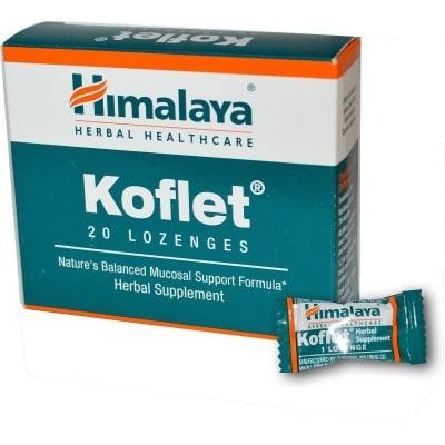 КОФЛЕТ – подпомага функциите на дихателния тракт – пастили х 10 THE HIMALAYA DRUG CO