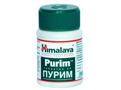 ПУРИМ – за проблемна кожа – таблетки х 30 THE HIMALAYA DRUG CO