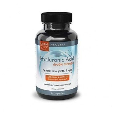 ХИАЛУРОНОВА КИСЕЛИНА 120 мг. - за млада кожа * 60капсули, NEOCELL USA