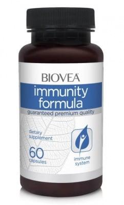 ИМУНИТИ ФОРМУЛА - осигурява здрава имунна функция - капсули х 60, BIOVEA