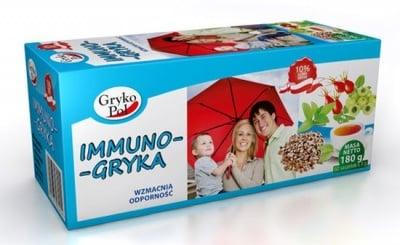 ЧАЙ ИМУНО ГРИКА - укрепва имунната система - филтърни пакетчета x 60, GRYKOPOL