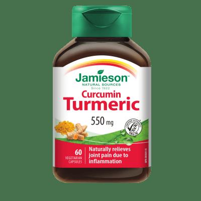 КУРКУМА 550 мг - подпомага храносмилането * 60 капсули