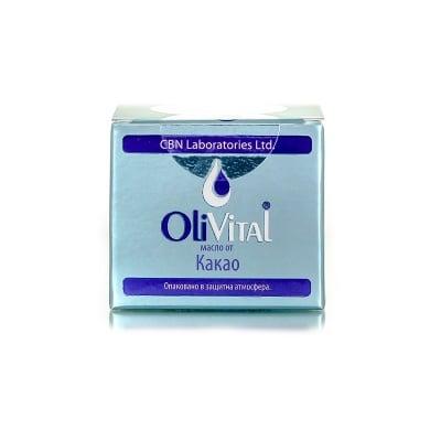 МАСЛО ОТ КАКАО ОЛИВИТАЛ хидратира кожата и възстановява косата 35 мл.