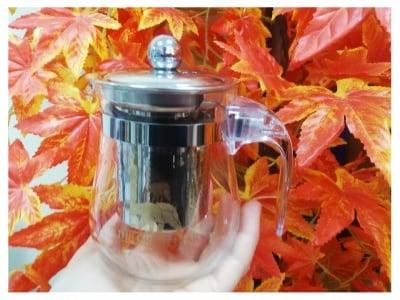 КАНИЧКА ГРИЙН БЕЪР - за направя на чай от насипни билки - 300 мл