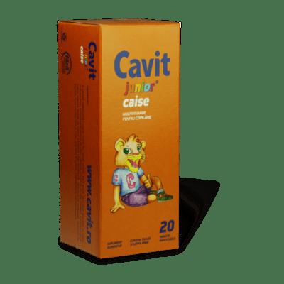 КАВИТ ДЖУНИЪР КАЙСИЯ - дъвчащи витамини за деца *20 табл., Biofarm
