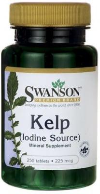 КЕЛП - естествен източник на селен и йод 225 мкг. * 250табл.