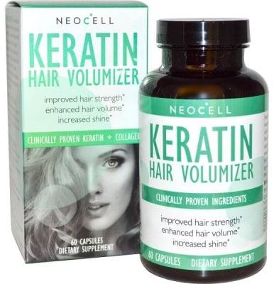 КЕРАТИН ФОРМУЛА ЗА КОСА заздравява косата и намаляват косопада * 60 капсули