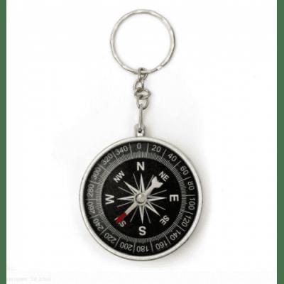 Ключодържател с мини компас за дейности на открито