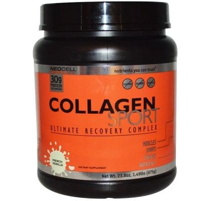 КОЛАГЕН СПОРТ възстановяват ставните връзки, сухожилията и съединителната тъкан след тренировки 675 гр.