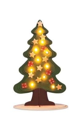 Комплект за сглобяване Коледна Елха, дърво