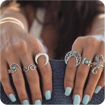 Комплект пръстени морски Морски дъх